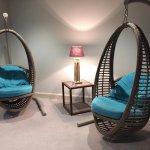 Luxury hanging seating