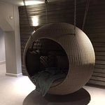 Hanging sleep pods - so relaxing!