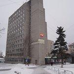 Вид на отель с улицы Студёная гора