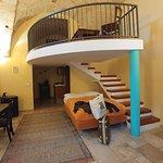 """La suite """"Ponte Ciolo"""" - due zone notte con kig size e angolo cottura"""