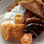 Full English Breakfast at the Cribbar