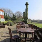 Our Restaurant Patio - Perfect for a Cream Tea!