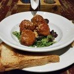 Grandma's Meatballs appetizer