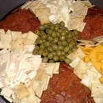 Pepperoni and Cheese Tray
