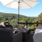 Relax on the terrace and enjoy the view