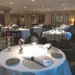 Salle du restaurant gastronomiqueLa Table de Levernois