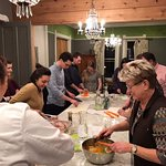 Cooking Classes in the kicthen at Nestle Inn