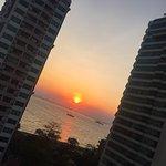 Sunset views at the Armada Hotel - Manila