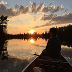 Canoeing in BWCA with B&B guests