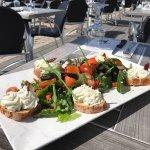 Salade de saison exceptionnelle recommande vivement