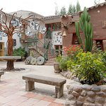 El Patio - Our front yard