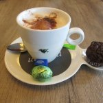 Coffee, Chocolate Muffin and Easter Egg