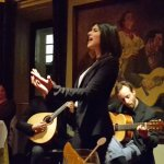 Wonderful Alto Fado singer backed by excellent musicians
