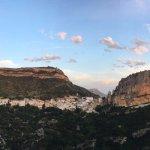 chulillia village inbetween the rock!