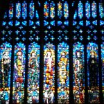One set of many stained glass windows