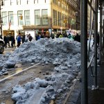 After the Blizzard, March 2017. Big Cleanup on Wall Street