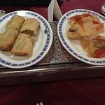 Wonton and Spring rolls