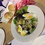 A serve of salad