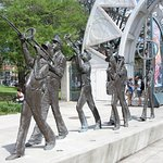 Sculpture in Louis Armstrong Park