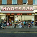 This is the outside of Morellis.