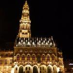 Beffroi d'Arras la nuit
