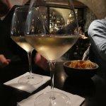 A late night chilled Pinot Grigio in Aperitivo Et Al