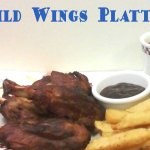 three hickory smoked pork shanks served with barbecue sauce, cole slaw, and your choice of fries