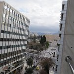 view to syntagma square - Athens Greece