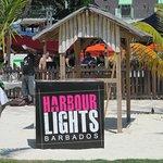 Passed through Harbor Lights to the beach
