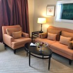My suite had its own parlor.