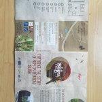 Flyer in deutsch und englisch