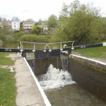Lock on the Kennet and Avon Canal