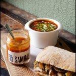 Sambal, Soup, & Sandwich