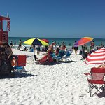 Beach and Lifeguard shack