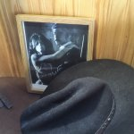 photo and old hat decorations, was autographed movie script, too!