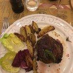 Filetto All'Aplina beautiful cut of steak perfect portion