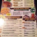 Yummy meal & menu list....Awesome meal