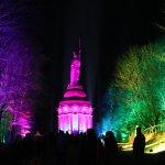 Jedes Jahr ein Highlight: Lasershow am Hermann