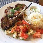 Delightful lamb chops!