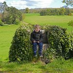 Our Grandson enjoying his day out at High Ash and I think you can see the views.