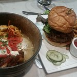 Pork Belly Bowl and the Jamz Burger