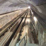 Travelling up to the highest underground station in the UK
