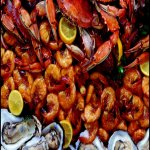seafood  catering platter