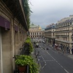 view from balcony towards Opera House