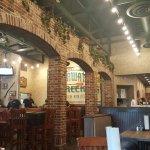 Inside view of restaurant.