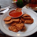 Yessy tempeh with chilli sauce