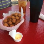 Our favorite place at the Marsh Walk! The sweet tea is the best! Here's a sample of what we had