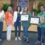 Thank you Dana Point Chamber for awarding Girl in the Curl Business of the month!