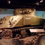 WW2 Sherman tank.