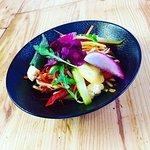 Salade de légumes croquants au vinaigre de cidre du Gorvello